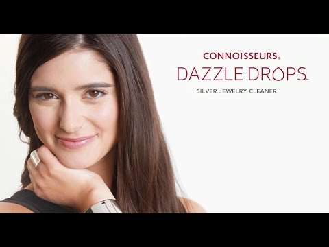 Connoisseurs Dazzle Drops Silver Jewelry Cleaner - How to Clean Silver Jewelry