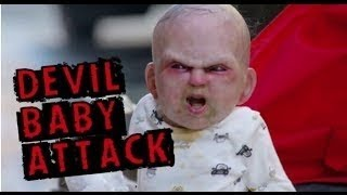 Devil Baby Attack Prank in New York City || Devil Due Movie AD NY 2014 || Devil Baby in Stroller