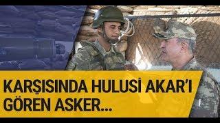 Orgeneral Hulusi Akar'ın Süleyman Şah Türbesi ziyareti askeri öyle bir heyecanlandırdı ki...