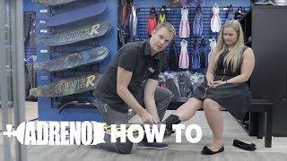 How to Fit an Open Heel Scuba Diving Fin | ADRENO Scuba Diving