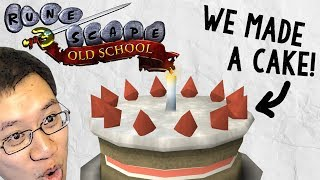 Old School RuneScape: A Cake-Baking Quest of Epic Proportions