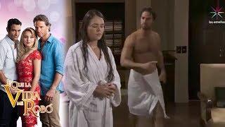 Alejandro corre a María de la hacienda   Lo que la vida me robó - Televisa