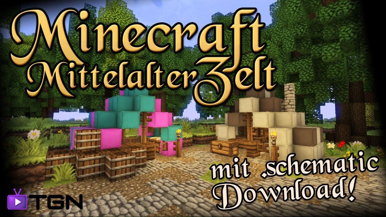 Minecraft tutorial mittelalter markt 1 dragonminerlp