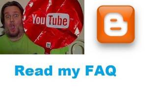 FAQ about me on my Blogger page