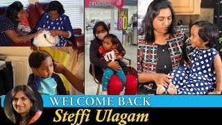 Welcome back to Steffi Ulagam