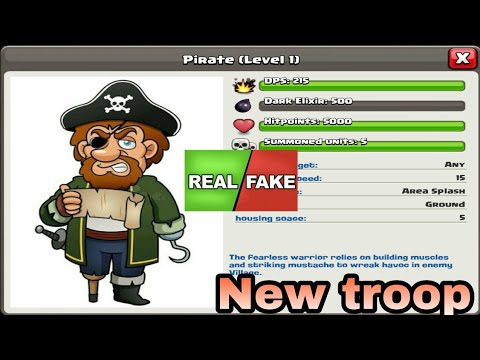 New troop?? ll Real / Fake ll Clash Of clans ll