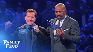 Jeff Dunham's MAGIC Fast Money! | Celebrity Family Feud
