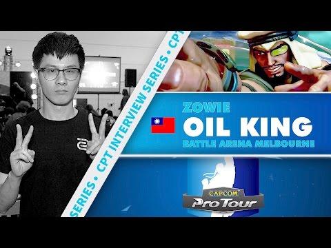 SFV: CPT Interview Series - Oil King (Battle Arena Melbourne 9)