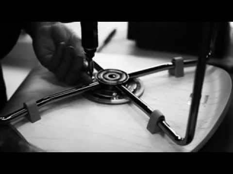 The making of: Arne Jacobsen `Butterfly chair` 3107, by Fritz Hansen
