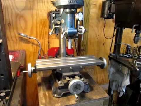 Milling With A Drill Press Youtube