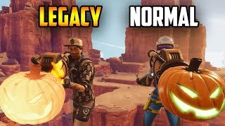 I Tried Trading For This RARE GUN... (Legacy Jack O Launcher) in Fortnite!