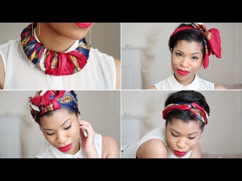 DIY | Scarf Many Ways