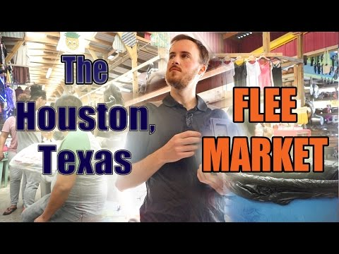 Picking A Houston Flea Market For Resale