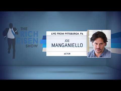Actor Joe Manganiello Talks Pittsburgh Steelers & More - 11/16/17