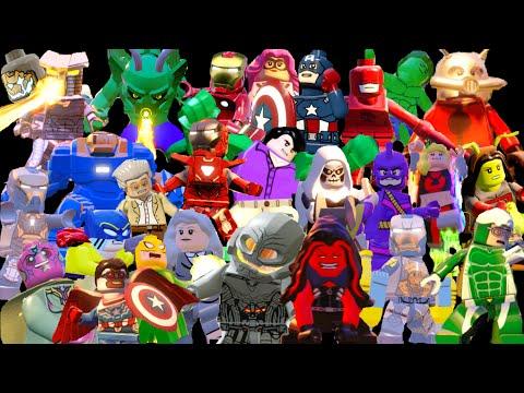 Lego Marvels Avengers Ultimate Character Unlock Guide