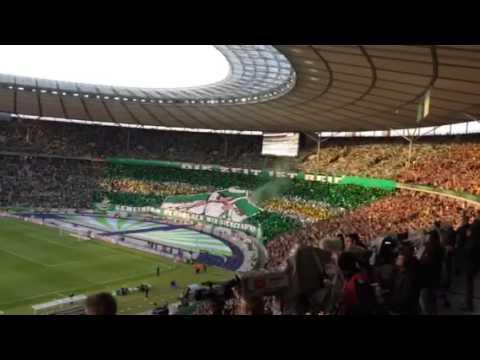 Choreo Der Fans Beim Dfb Pokal Finale In Berlin