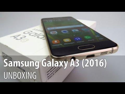 Samsung Galaxy A3 (2016) Unboxing în Limba Românã - Mobilissimo.ro