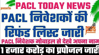 Pacl, Pacl Latest News, Pacl Today News, Pacl Refund News, Pacl Refund News 2020 #TZR