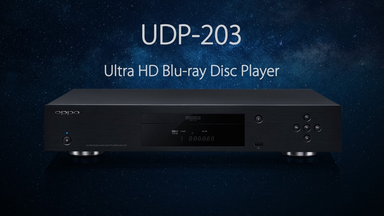 udp 203 4k ultra hd blu ray disc player   oppo digital