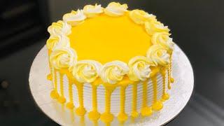 Pineapple Cake Recipe  No Oven Cake Recipe  Pineapple Pastry Cake Recipe  Yellow Cake