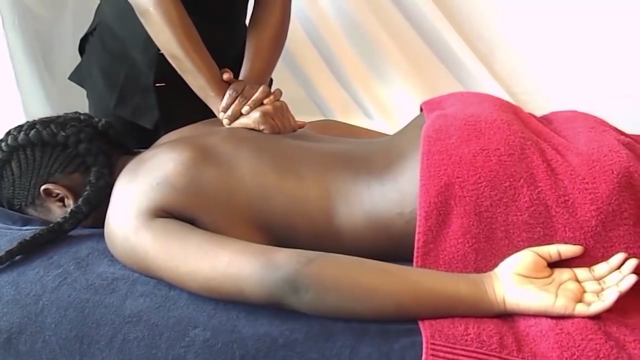 Full Body Massage Therapy Techniques, How To Give Back Massage - Youtube-3399