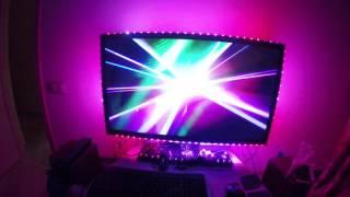 Ambilight clone laser show polka video(Ambilight clone на базе Rasperry Pi 2, светодиодной ленты на ws2812b и EasyCap (utv007) устройство видеозахвата. Скрипт на Python-е..., 2015-11-27T20:11:13.000Z)
