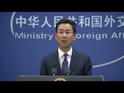 China Lodges Solemn Representations with US Over Arms Sale to Taiwan