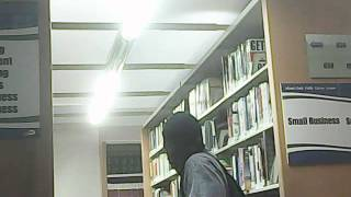 "8-30-13  Miami Dade Library, this negra was ""behind me"" watching me,an MPD agent"
