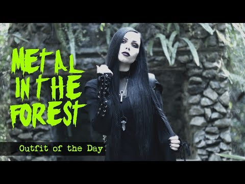 METAL IN THE FOREST    Outfit of the Day - ReeRee Phillips