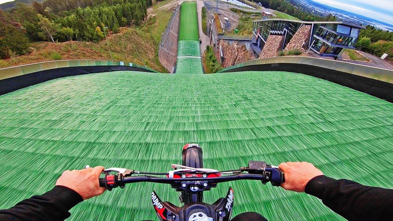 Max Speed Dirt Bike Hillbomb Youtube