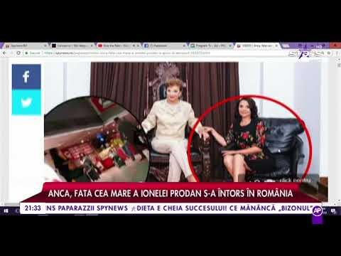 Anca, fata cea mare a Ionelei Prodan s-a întors în România