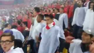 Alee aleee,cainii rosii ale alee(Dinamo-Steaua 1-1) 17.04.2014