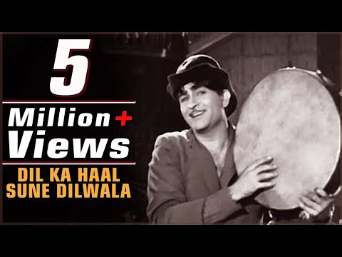Dil Ka Haal Sune Dilwala  Raj Kapoor  Nargis  Shree 420 1955  Bollywood Evergreen Song