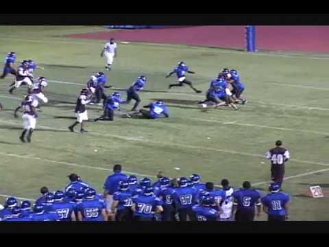 Mike Anderson Jr - 2010 DB / WR (Defensive Video) Plantation High School