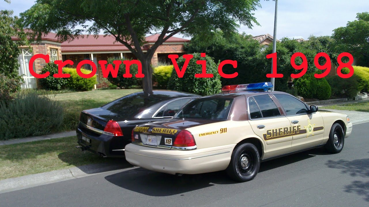 1998 Ford Crown Victoria P71 - American police car in Australia ...