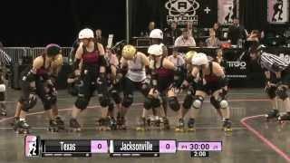 WFTDA Roller Derby: 2014 Division 1 Playoffs, Evansville: Jacksonville vs. Texas