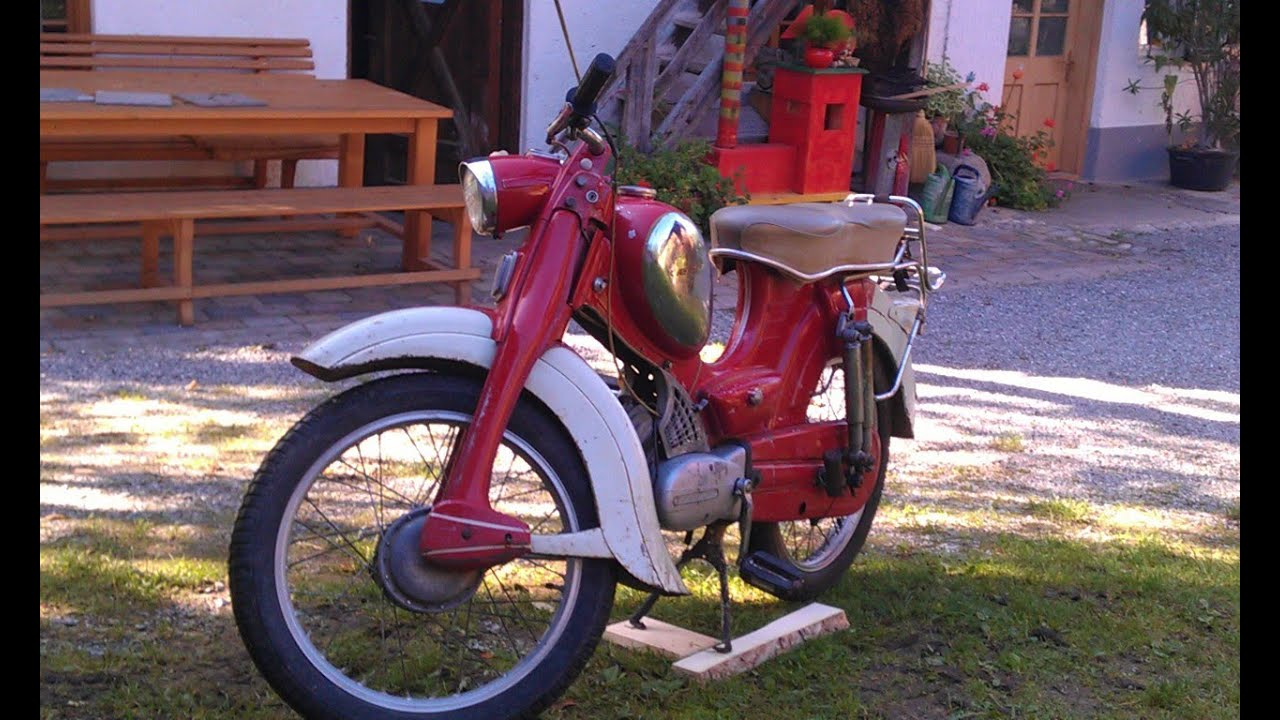 z ndapp combinette moped on german bavaria streets 50ccm youtube. Black Bedroom Furniture Sets. Home Design Ideas