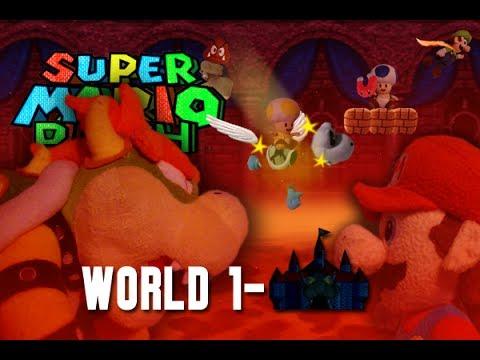 Super Mario Plush World 1-Castle