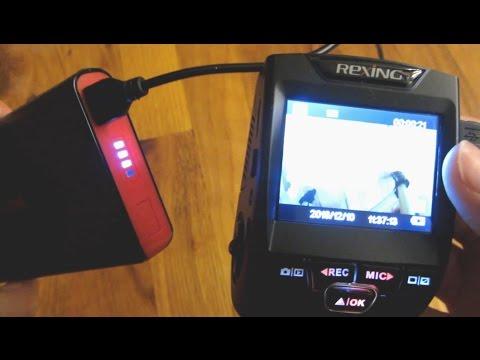 Dash Cam - Using Power Bank with a Dash Cam