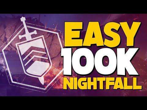 Repeat Destiny 2, Nightfall 100k, No Exotics, Titan Striker, Strange