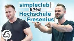 simpleclub am Campus der Hochschule Fresenius in Köln
