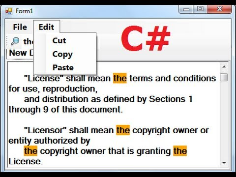 c#-tutorial-67:-how-to-make-a-tabbed-notepad-in-c#-(-manustrip,-cut,copy,paste,open,save)-part-1