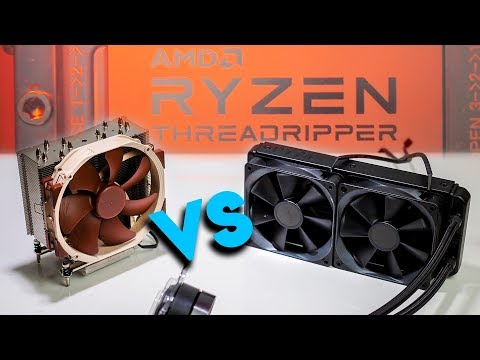 Cooling AMD Threadripper - Air vs All in One Water