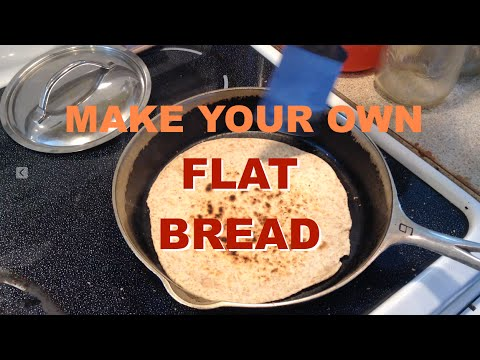 Make Your Own Flat Bread No Yeast Version Youtube