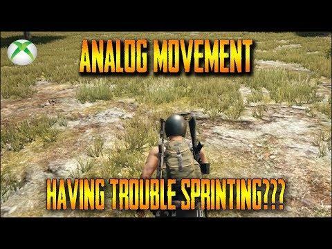 PUBG Xbox One - Analog Movement Hotfix Sprint Fix