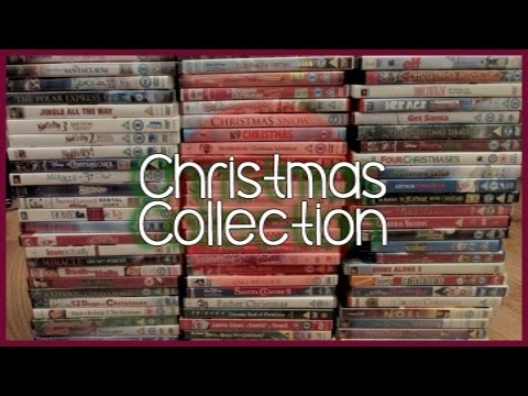 My Christmas Movie Collection 2015 | 70+ Movies