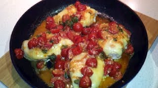 How To Make Caprese Chicken (dr Poon / Low Carb / Primal)