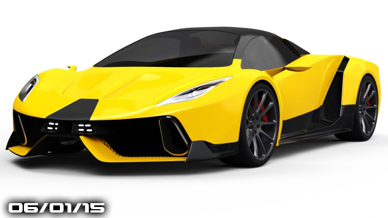 Bmw Hybrid Supercar Srt Tomahawk Teaser Fast