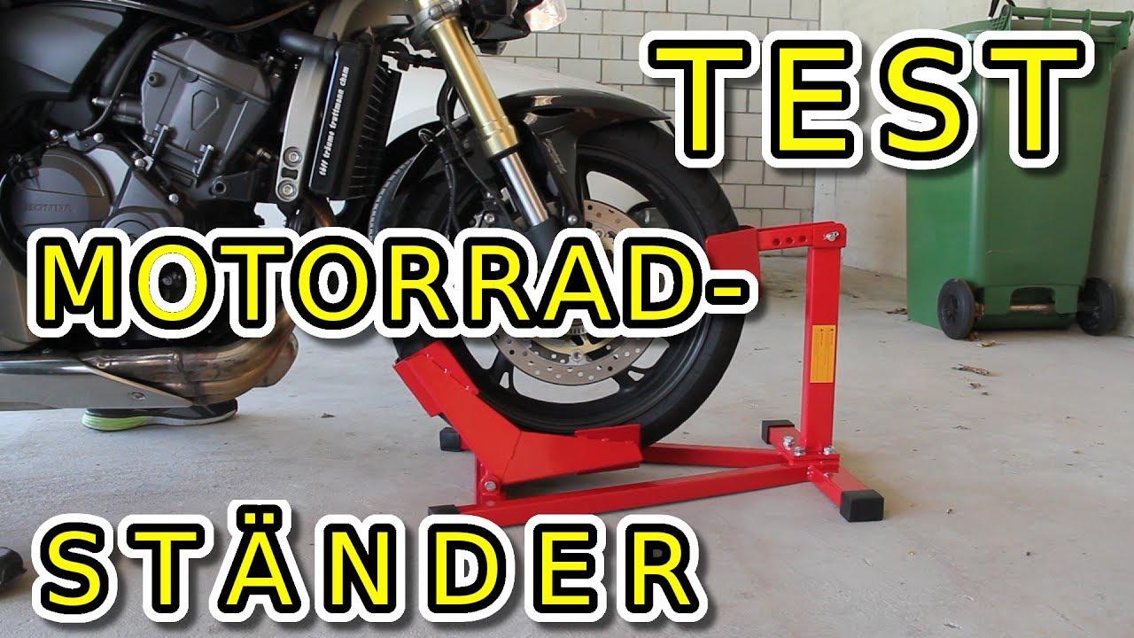 """Motorradwippe Montageständer Motorrad Transportwippe Radklemme Vorderrad 17/""""-21/"""""""