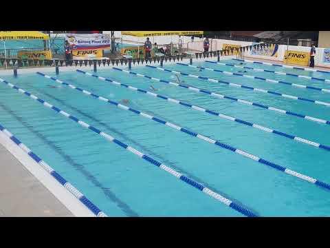 100 M Backstroke - Batang Pinoy Luzon Leg - Vigan, Ilocos Sur